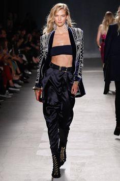Karlie Kloss - Balmain x H&M Fashion Show