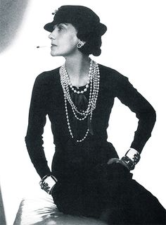 Coco Chanel & Pearls