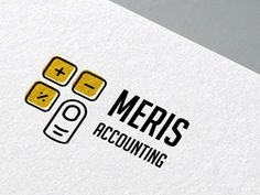 Meris Accounting Logo by Sanja Zakovska