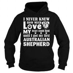 Love my Australian Shepherd shirt for dog lovers