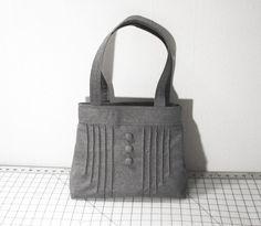 pretty gray bag