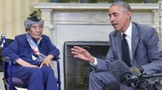The country's oldest known living veteran, Emma Didlake, died Sunday, just one month after being honored by President Barack Obama in Washington, D.C. Didlake was 110-years-old.