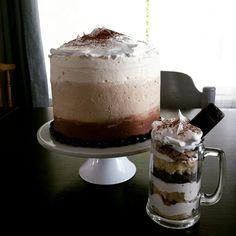 Gâteau au café inspiré d'une création de Yolanda Gampp pour la fête des Pères. Tout simplement décadent!!!
