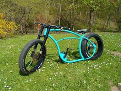 Bike Trike Scooter, Tricycle Bike, Beach Cruiser Bikes, Cruiser Bicycle, Custom Cycles, Custom Bikes, Cool Bicycles, Cool Bikes, Lowrider