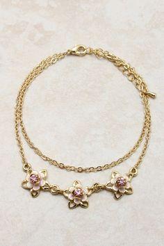 Shimmering Rose Bracelet on Emma Stine Limited