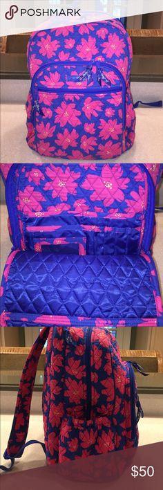 Selling this 🌺Vera Bradley Campus Backpack 🌺 on Poshmark! My username is: darlenemaye. #shopmycloset #poshmark #fashion #shopping #style #forsale #Vera Bradley #Handbags