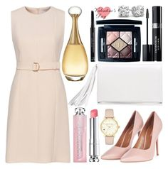 """Happy Valentine's Day!"" by hazilsilversword ❤ liked on Polyvore featuring Joanna Maxham, Topshop, Christian Dior, Kate Spade, gold, Pink, single, Dior and valentinesday"
