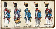 French Napoleonic period line regiments - Google Search