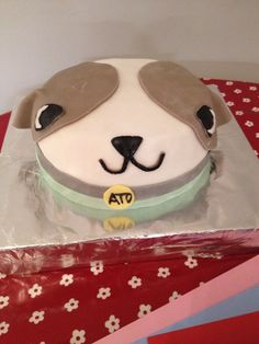 Ato from Canimals birthday cake
