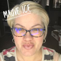 Mauve Ice LipSense by SeneGence is a neutral color. You can view it on people, look at combos or comparisons or even in a collage.  However, nothing rivals seeing it on a real person.  Click to purchase yours NOW!  #lipsense #senegence