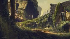 ArtStation - Uncharted 4 - Ruins, Eytan Zana