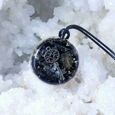 I found this Magic Inner Key orgonite pendant at elvemagic.etsy.com
