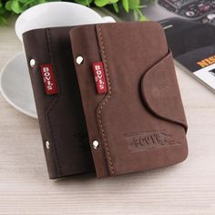 Leather Credit Card Holder, Business Cards