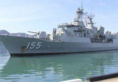 HMAS Ballarat (FFH 155).RAN Ballarat Class Frigate.