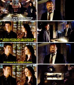 """""""It's because he's a different person"""" - Barry, Caitlin, Cisco and Joe #TheFlash"""