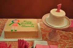 cake ideas for a blabla party.