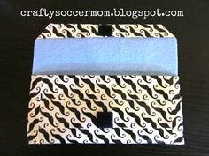 Crafty Soccer Mom: Duct Tape Clutch~Beginner Level