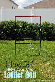 DIY Ladder Toss Game {Outdoor Summer Activity}