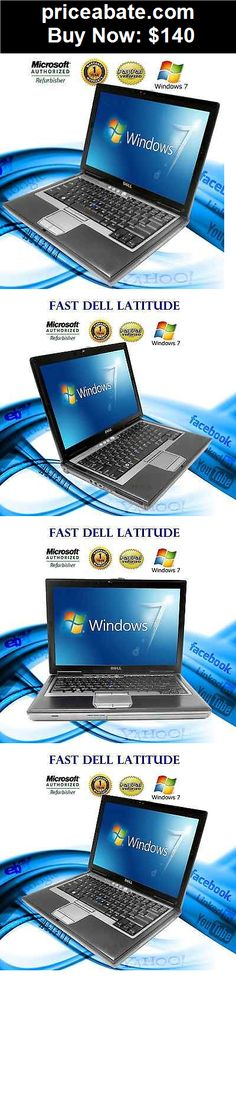 Computers-Tablets-And-Networking: DELL Latitude Laptop Computer Core 2 Duo 40GB WiFi DVD Windows 7 Notebook HD - BUY IT NOW ONLY $140