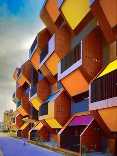 Social Housing, Izola, Slovenia by Ofis Arhitekti