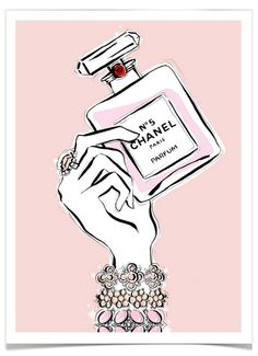 Fashionable art by Australian illustrator for Tiffany & Co, Dior and Marc Jacobs