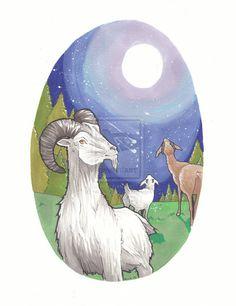 Goats gazing by ~Nico-Mac on deviantART