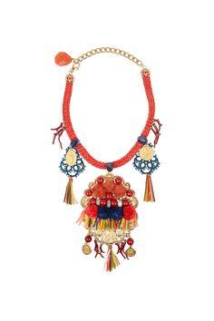 Tendencia Primavera 2013 accesorios oversized necklaces collares extra grandes