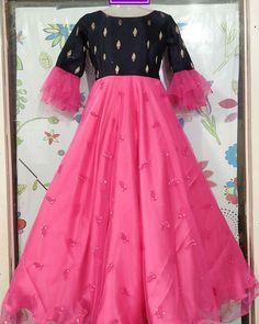 Long Frocks For Girls, Gowns For Girls, Frock Patterns, Kids Dress Patterns, Designer Anarkali Dresses, Designer Party Wear Dresses, Baby Frocks Designs, Kids Frocks Design, Indian Gowns Dresses