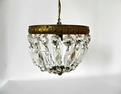 A vintage French chandelier is like jewelry your room can wear.