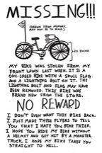 Missing Bike. :(