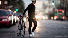 Fashionable City Type 001 Triple Matte Black Bike