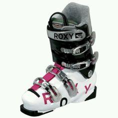 Roxy ski boots #winter #snowgear #fun