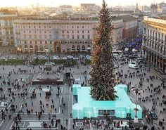 Tiffany & Co Christmas Boutique in Milan