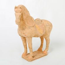 Terracotta Horses.   Visit our online showroom for this and other items.