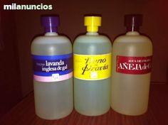 Antiguas Colonias de 1 litro marca gal