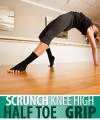 scrunchy barre socks