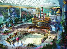 south korea attractions | lotte world 550x404 Lotte World, South Korea