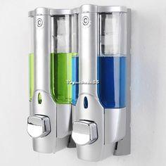 New Home Washroom Soap Sanitizer Wall Mounted Bathroom Shower Shampoo Dispenser #Unbranded