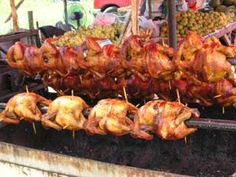 Kai Yang (Thai-Style Grilled Chicken With Spicy Sweet And Sour Dipping Sauce) ไก่ย่าง