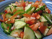 Simple Dan Mudah Kerabu Timun Tomato Food Food Recipes