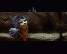"""""""Ello.""""  """"Did you say hello?"""" """"No, I said ello, but that's close enough.""""- GASP!!!! My absolute favorite part of Labyrinth!!!!"""