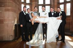 Bride of the day Dani in our Alora gown