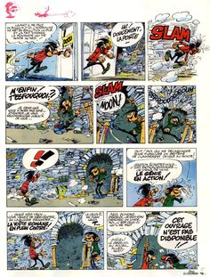 Gaston by André Franquin