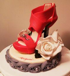 High Heel Shoe Topper