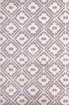 Lilac Color on Off-White Silk Tassar Hand Printed Fabric, Printing On Fabric, White Silk, Off White, Lilac Color, Guest Room, Prints, Fabrics, Home Decor