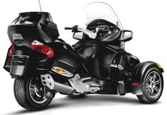 Can-Am Spyder RT back