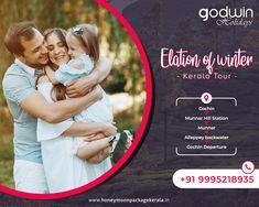 Book your Dream tour with us and explore the best of Kerala!! For booking : Call / Whatsapp : +91 9995218935, +91 9895999412 Website : www.honeymoonpackagekerala.in #Kerala #Keralatourism #Familytour #Family #trip #exlpore #Godwinholidays