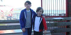 Youth Flex Fleece Zip Hoodies by American Apparel #kids