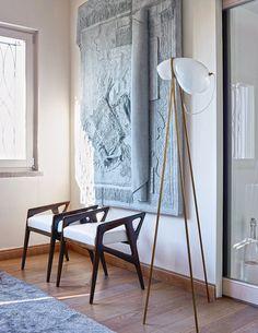 Roma, in un appartamento al Pincio inondato di luce - Design news - GraziaCasa.it