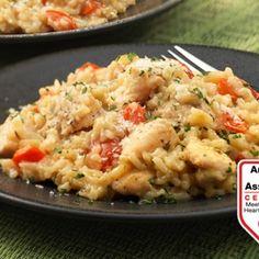 Creamy Risotto-Style Chicken & Rice Recipe